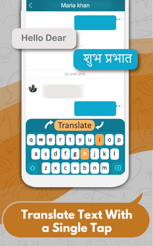 Hindi English Translator Keyboard -Chat translator for Android - APK