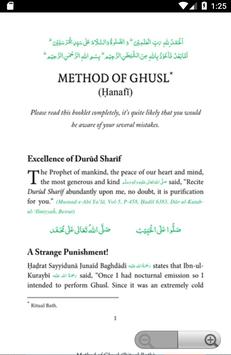Method Of Ghusl - Gusal Ka Tarika screenshot 1