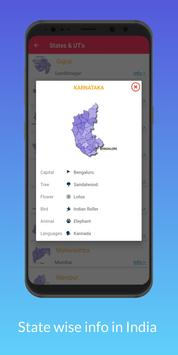 India App : India Facts, GK, About IND States Info screenshot 3