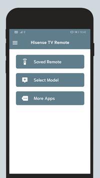 Remote For Hisense TV screenshot 1
