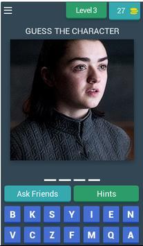 Game Of Thrones Quiz (Fan Made) screenshot 3