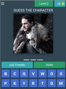 Game Of Thrones Quiz (Fan Made) screenshot 14