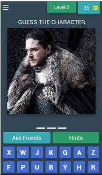 Game Of Thrones Quiz (Fan Made) screenshot 2