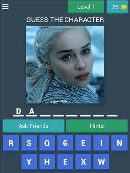 Game Of Thrones Quiz (Fan Made) screenshot 6