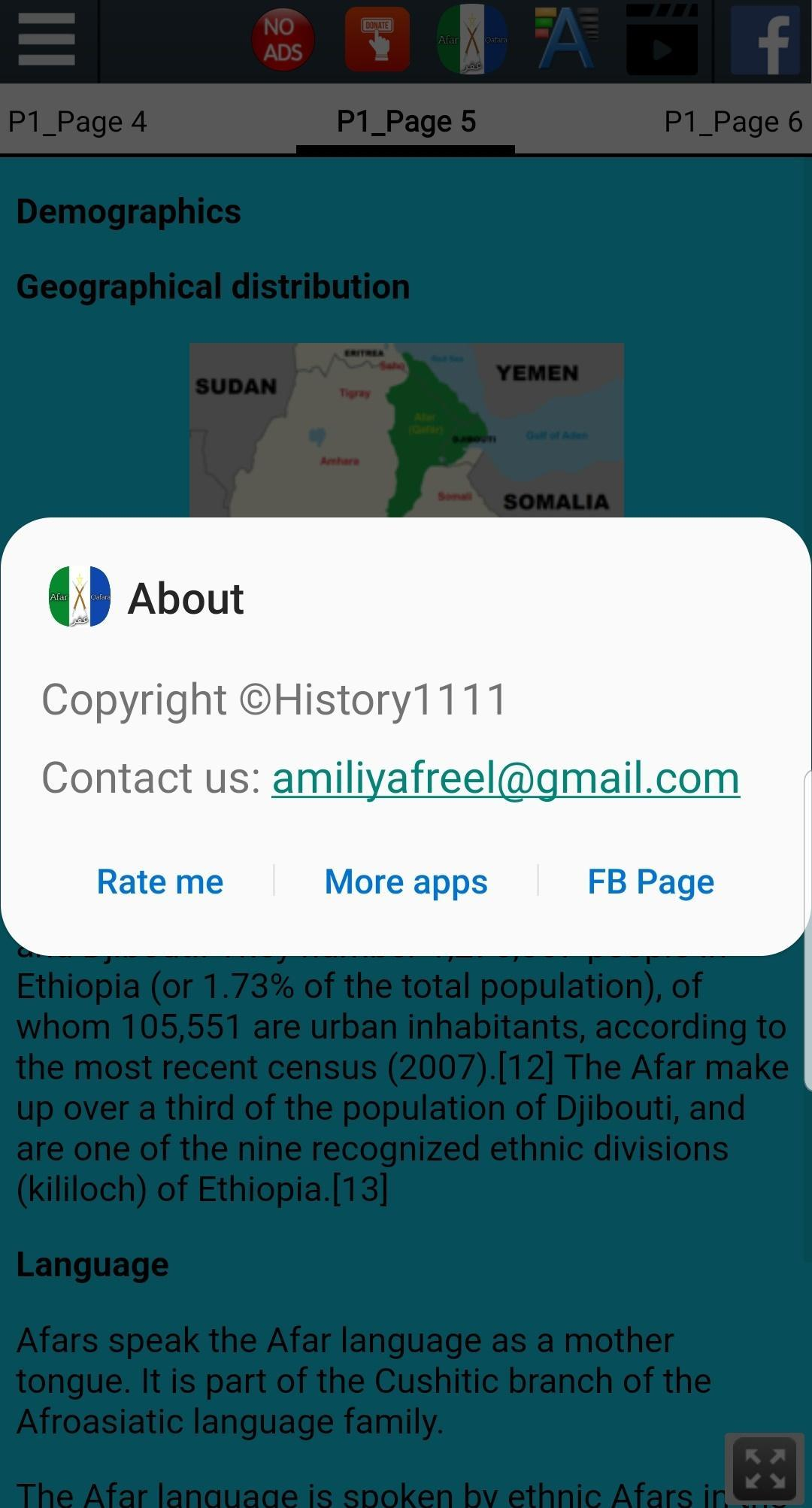 History of Afar people for Android - APK Download