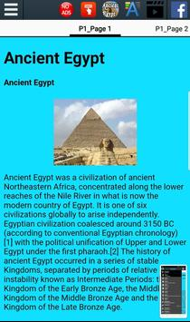 History of Ancient Egypt screenshot 1