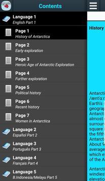 History of Antarctica poster