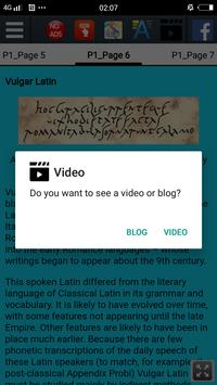 History of Latin screenshot 11
