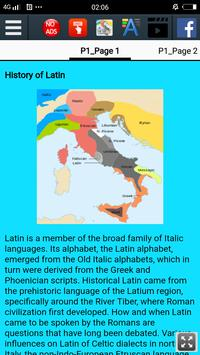 History of Latin screenshot 1