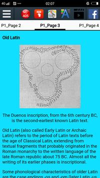 History of Latin screenshot 2