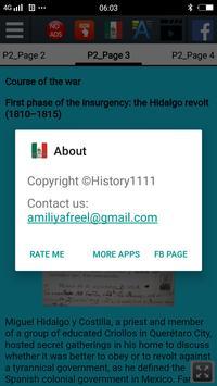 Mexican War of Independence screenshot 3