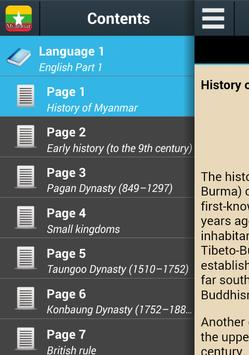 History of Myanmar poster