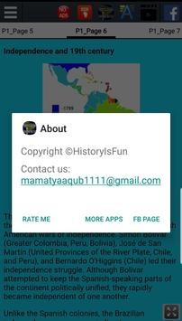 History of South America screenshot 3