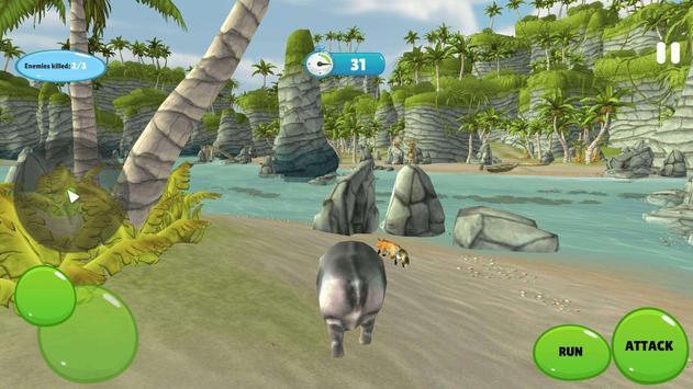 Hipopotamo Simulator screenshot 2