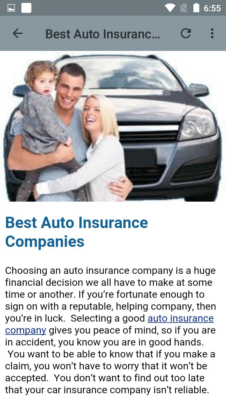 Online Car Insurance >> Car Insurance Online Quote For Android Apk Download