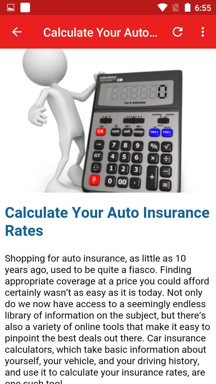 Car Insurance Online Quote For Android Apk Download