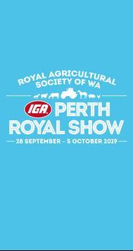 Perth Royal Show poster