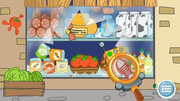 Kids Policeman games: Hippo Detective screenshot 4