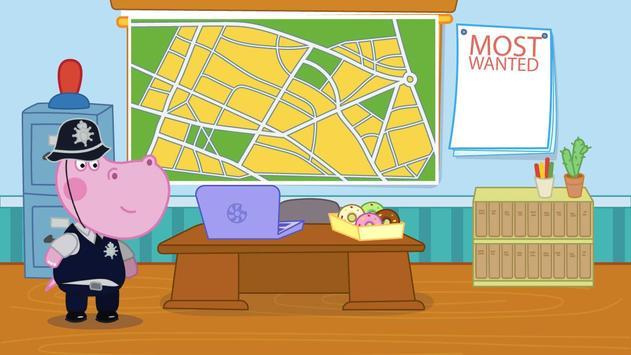 Kids Policeman games: Hippo Detective screenshot 6