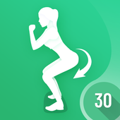 30 Days Buttocks Workout For Women, Legs Workout أيقونة
