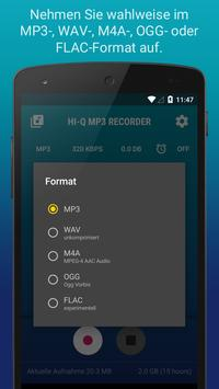 Hi-Q MP3 Recorder (Testversion) Screenshot 3