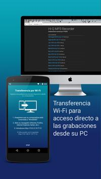 Hi-Q MP3 Grabador de Voz (Gratis) captura de pantalla 10
