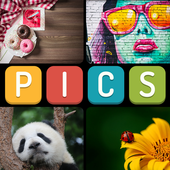 Which Pics Quiz - 4 Pics 1 Word Free Game 2019 icon