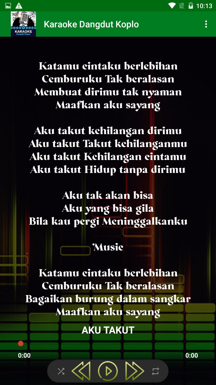 Karaoke Dangdut Koplo For Android Apk Download