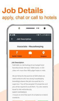 Hotel Jobs - hire4hotels screenshot 4