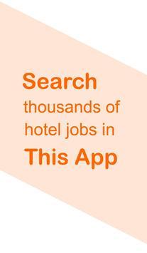 Hotel Jobs - hire4hotels screenshot 1