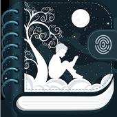 Icona Vita: diario personale, diario, taccuino
