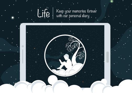 8 Schermata Vita: diario personale, diario, taccuino