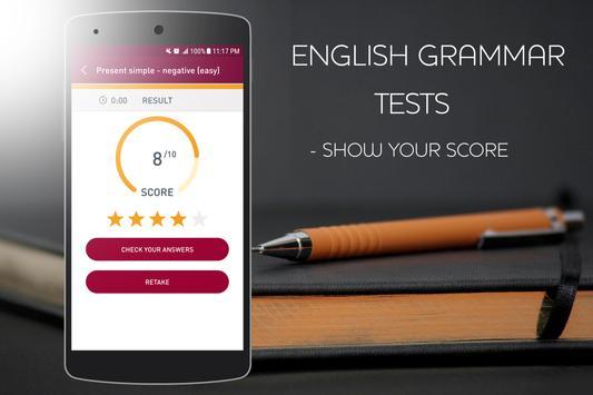 English Grammar Test screenshot 4