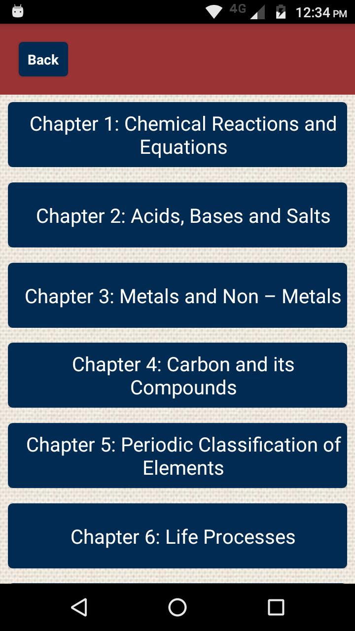 Class 10 Science CBSE Notes for Android - APK Download