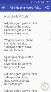Nyimbo Cia Kuinira Ngai screenshot 19