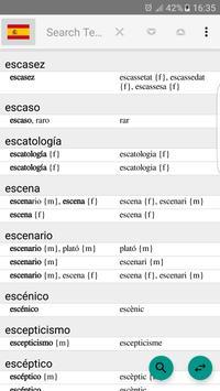 Spanish - Turkish Dictionary screenshot 1
