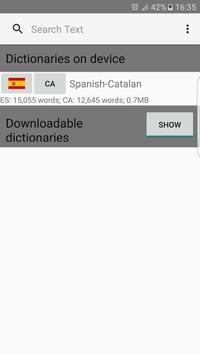 Spanish - Turkish Dictionary screenshot 6