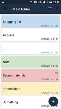 Not Defteri Ekran Görüntüsü 1