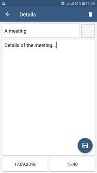 Scheduler. Task list. Reminders screenshot 3