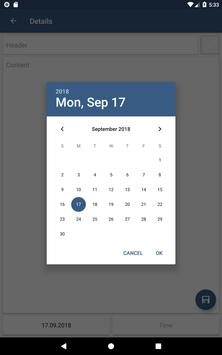 Scheduler. Task list. Reminders screenshot 8