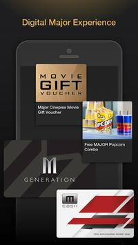 Major Cineplex screenshot 1