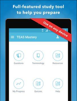 TEAS Mastery captura de pantalla 10