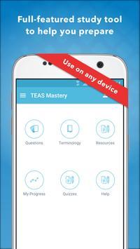 TEAS Mastery captura de pantalla 4