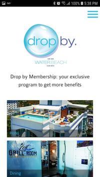 Drop by San Juan Water poster