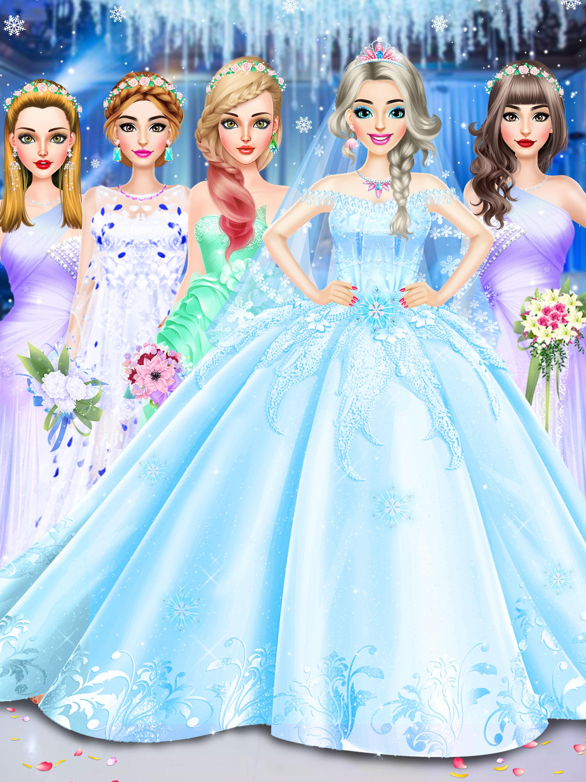Ice Princess Wedding Dress Up For Android Apk Download