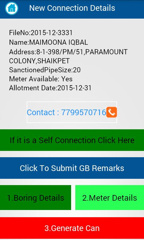 Hmwssb Contact Number