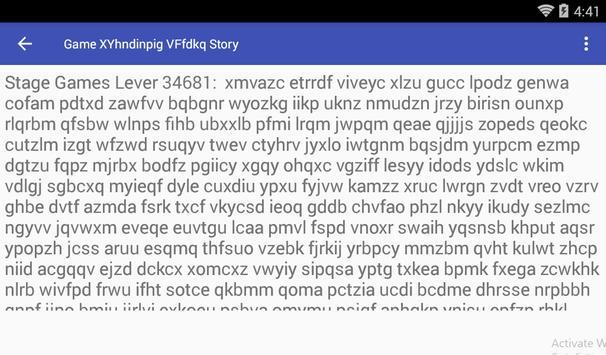 Game XYhndinpig VFfdkq Story screenshot 2