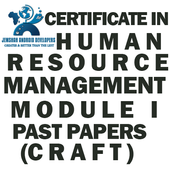 CRAFT CERT IN HR MANAGEMENT MODULE I  PAST PAPERS icon