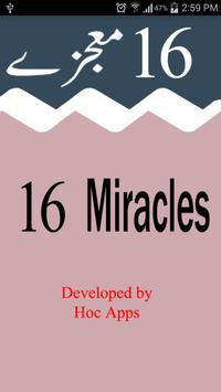 16 Mojzay (Sixteen Miracles) poster
