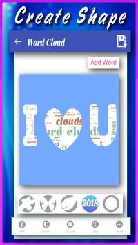 Word Clouds : Word Art Generator screenshot 3